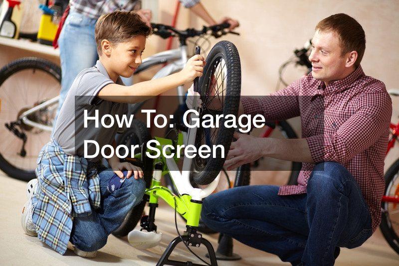 How To: Garage Door Screen